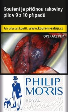 PHILIP MORRIS ROYAL(BLUE)88V