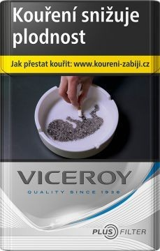 VICEROY PLUS STRIBRNA    90V