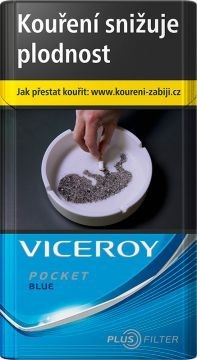 20 VICEROY POCKET MODRA  82T