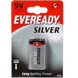 EVEREADY 9V CER 6F22
