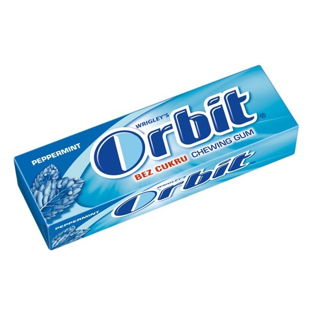 ORBIT DRAZE PEPPERMINT modre 1