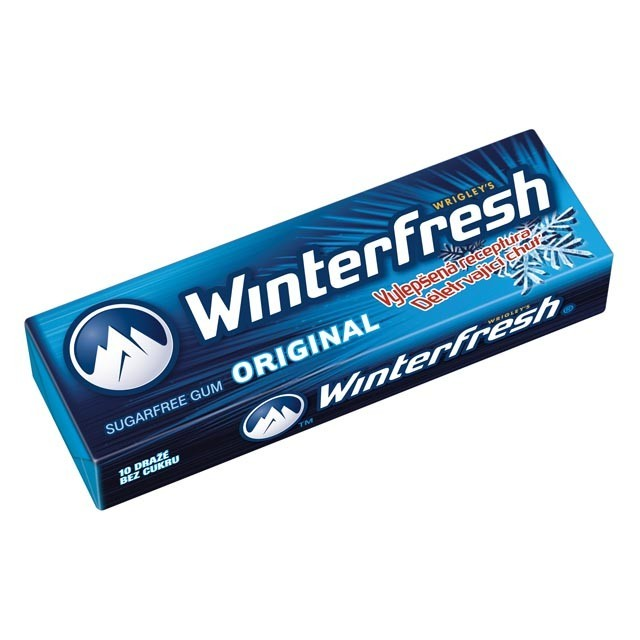 ORBIT DRAZE WINTERFRESH tmave