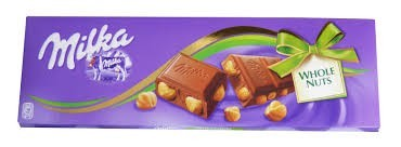 MILKA WHOLENUTS 100g      CO