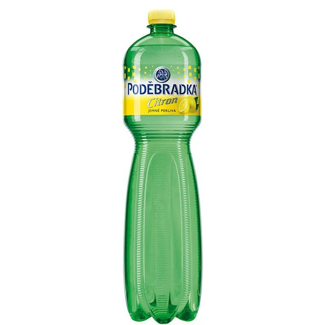 PODEBRADKA CITRON 1.5l PET