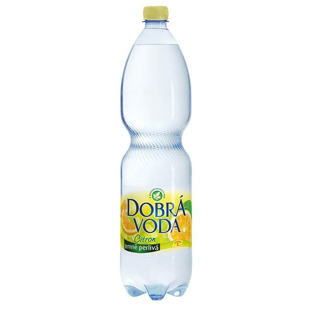 DOBRA VODA CITRON 1.5l PET