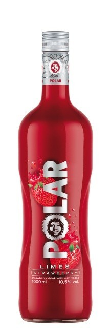 POLAR LIMES STRAWBERRY 1l 10.5