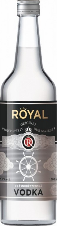 ROYAL VODKA 0,5l 37,5% KB