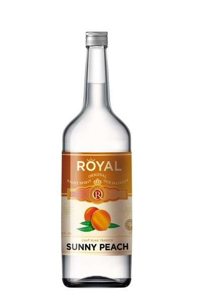 ROYAL PEACH VODKA KB 1l 16%