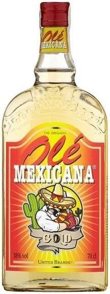 MEXICANA OLE GOLD 0,7l 38%
