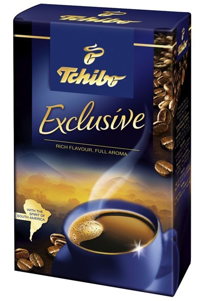 TCHIBO EXCLUSIVE 250g tmava