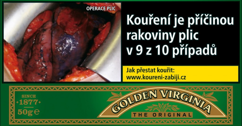 TABAK GOLDEN VIRGIN.50g 281T