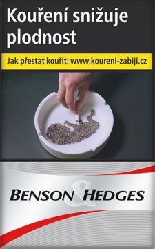 BENSON a HEDGES SILVER   86T