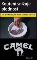 CAMEL BLACK 83 mm        90V č.1