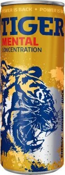 TIGER ENERGY DRINK MENTAL 0,25