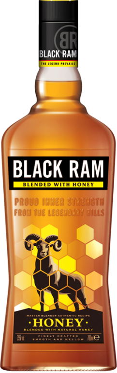 BLACK RAM HONEY 0,7l 35%