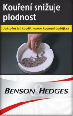 BENSON a HEDGES WHITE    89V č.1