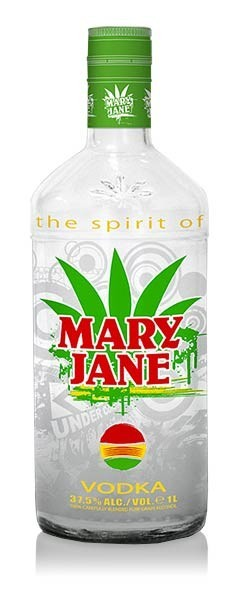 MARY JANE VODKA 37,5% 1l