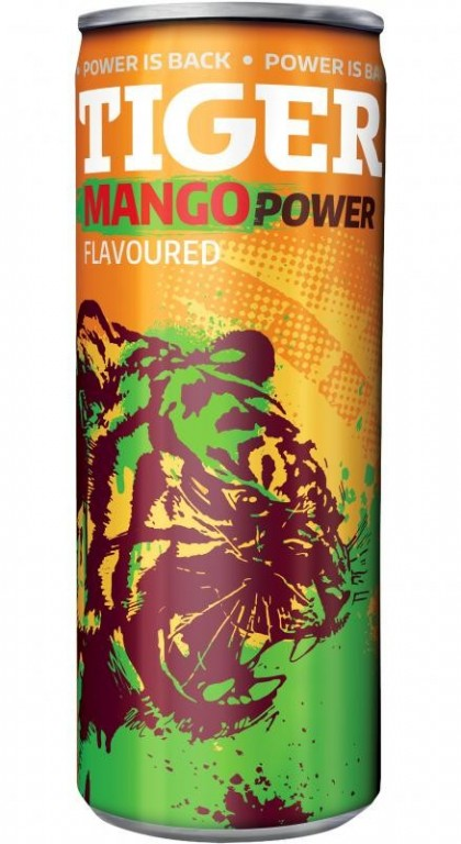 TIGER ENERGY DRINK MANGO 0,25l