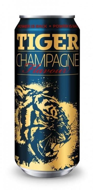 TIGER ENERGY DRINK CHAMPAGNE 0