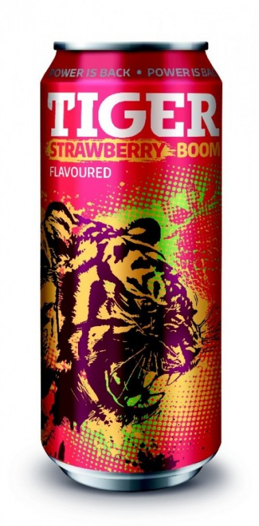TIGER ENERGY DRINK STRAWBERY 0