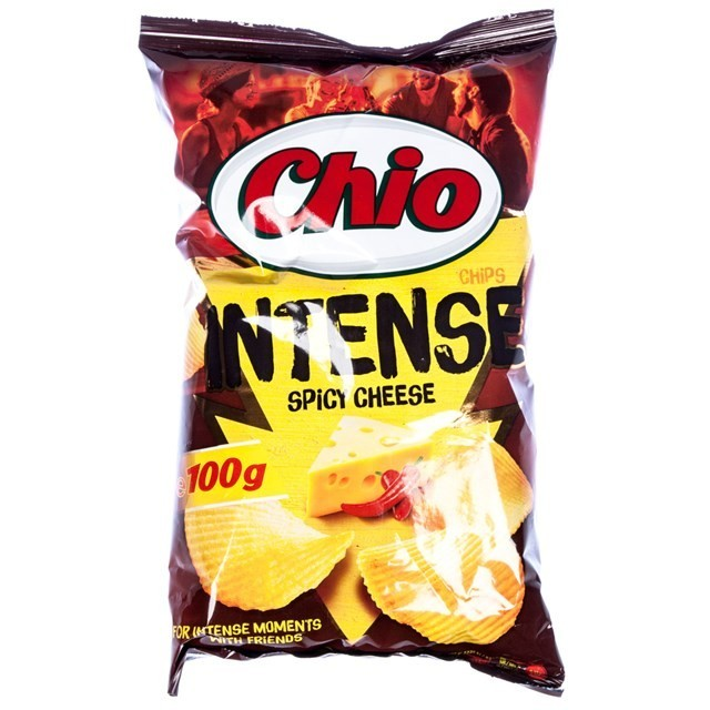 CHIO INTENSE SPICY CHEESE 100g